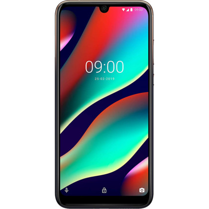 Wiko View 3 Pro anthracite blue gold