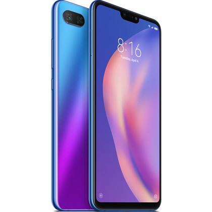 Xiaomi Mi 8 Lite aurora blue mit 6 GB RAM