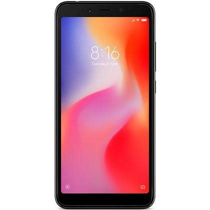 Xiaomi Redmi 6 schwarz mit 3 GB RAM