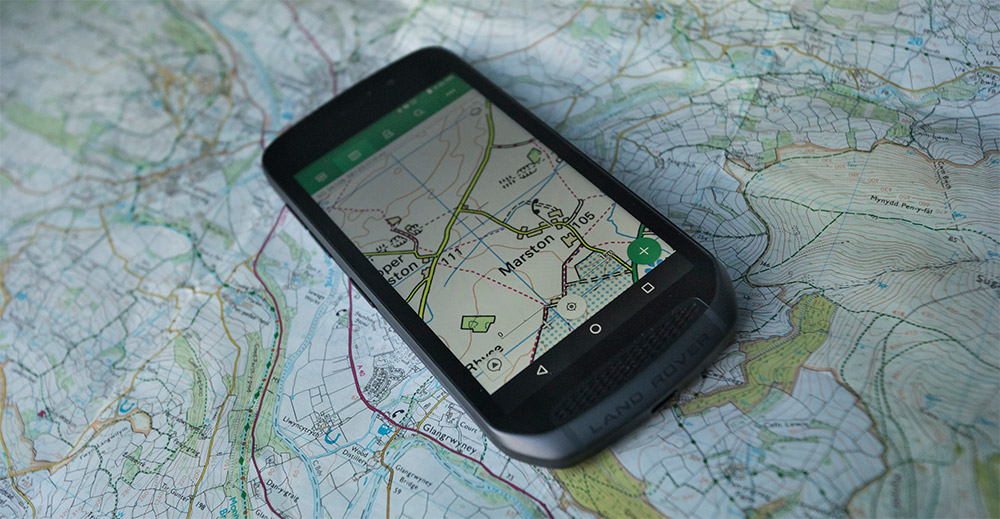 Land Rover Explore – ein Outdoor-Smartphone der Superlative
