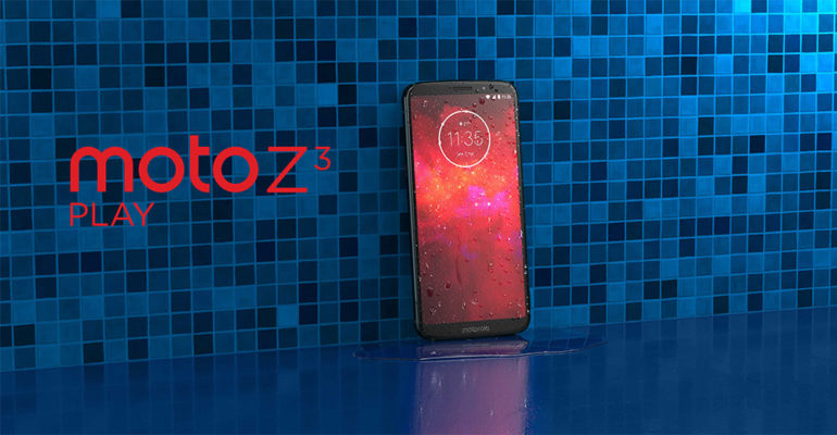 Motorola Moto Z3 Play – Erweiterbares Smartphone mit Android Pie
