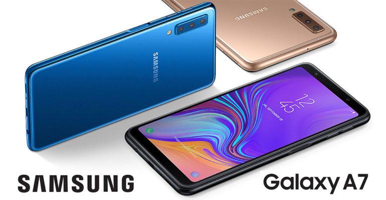 Samsung Galaxy A7 (2018) – erstes Samsung-Smartphone mit Triple-Kamera