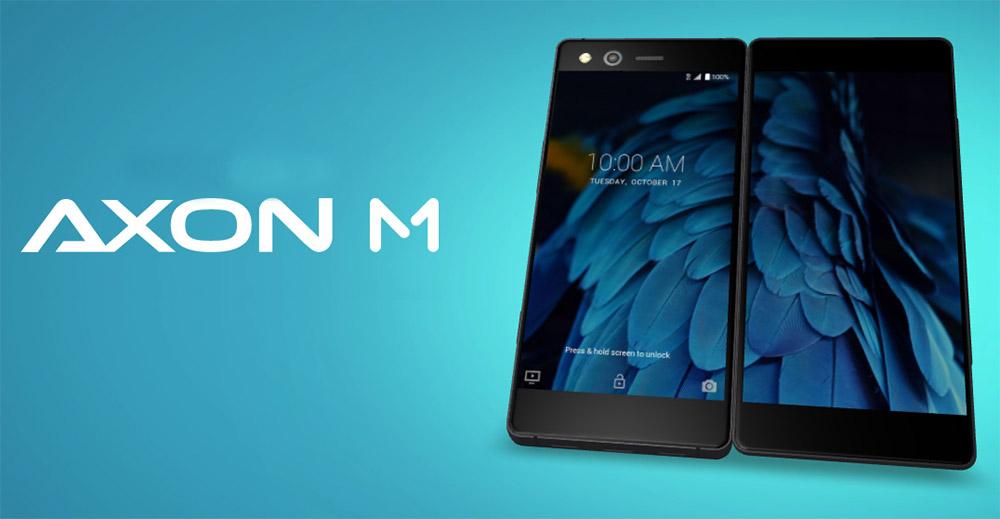 """ZTE Axon M – das erste """"Convertible-Smartphone""""?"""