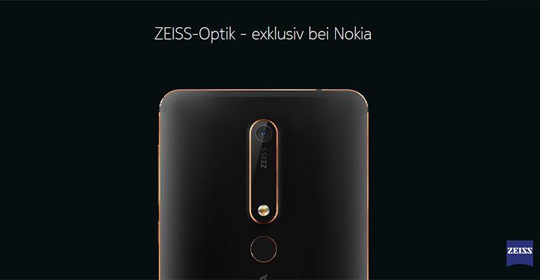 Das neue Nokia 6 2018