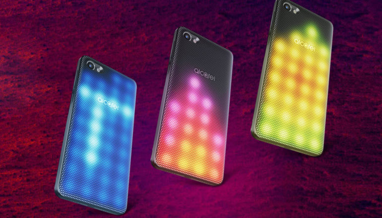 Alcatel A5 LED – die Lichtshow in der Hand