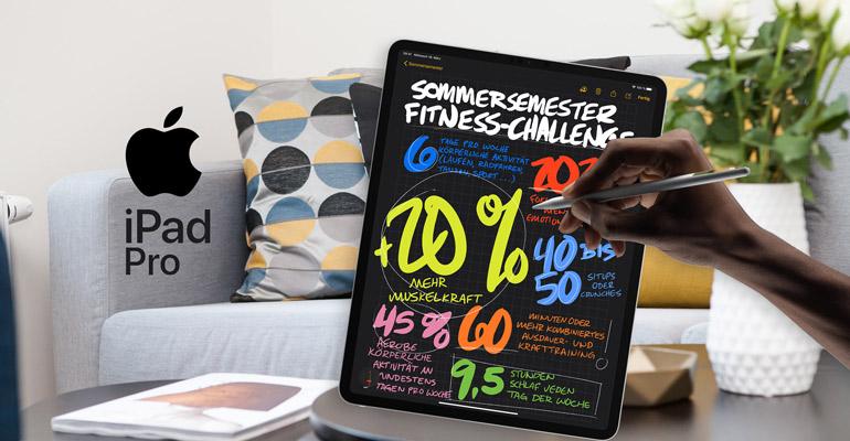 iPad Pro 2020 – Arbeit und Entertainment auf einem neuen Niveau