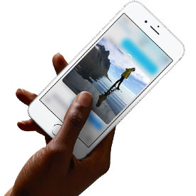iPhone 6S – mit 3D Touch eine völlig neue Interaktion erleben