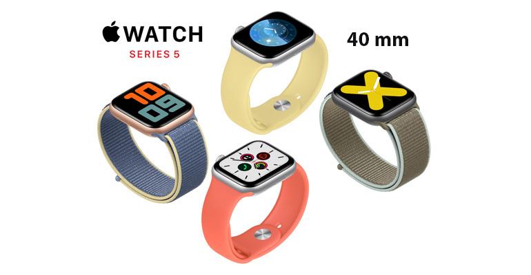 Apple Watch Series 5 40 mm – die intelligente Uhr für jeden Geschmack