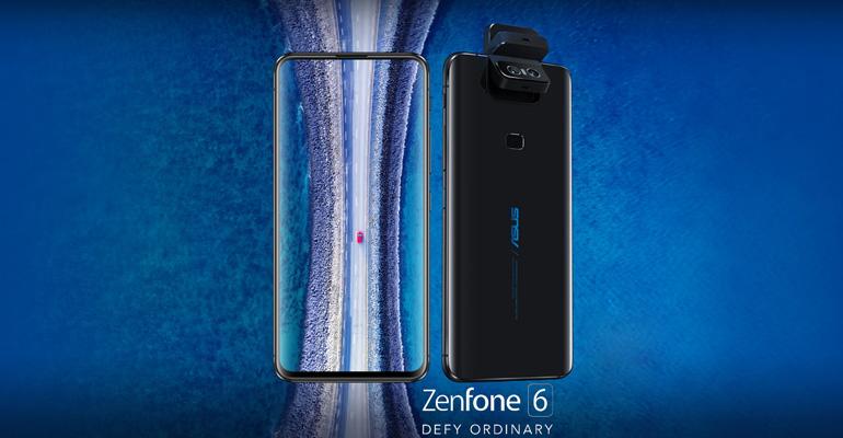 ASUS Zenfone 6 – innovativ mit Rotationskamera