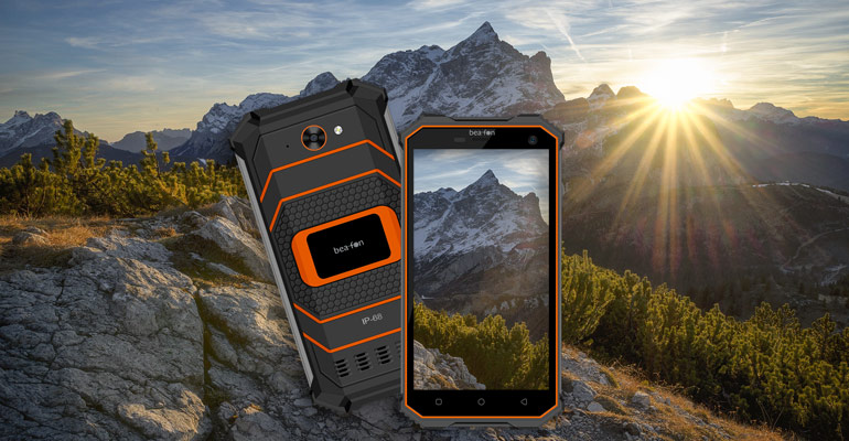 Beafon X5 – Outdoor-Smartphone mit SOS Funktion