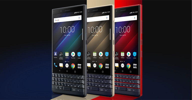 BlackBerry KEY2 LE – Business-Smartphone im Mittelklasse-Segment