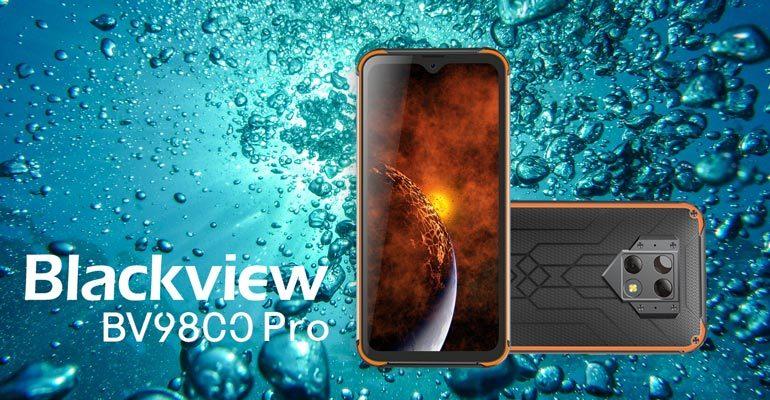 Blackview BV9800 Pro – Outdoor-Smartphone mit Wärmebildkamera