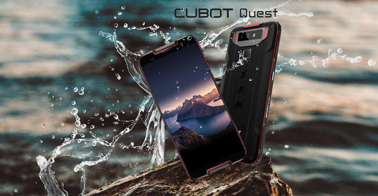 Cubot Quest – optimal für Sportler