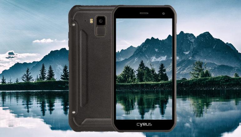 Cyrus CS40: Stylisches Mittelklasse-Smartphone für Naturfreunde