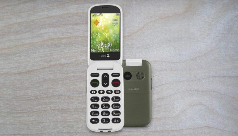 Doro 6050: Mit dem preiswerten Senioren-Klapphandy mobil erreichbar