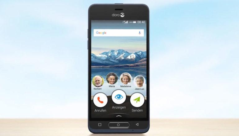 Bedienerfreundliches Smartphone – Doro 8035