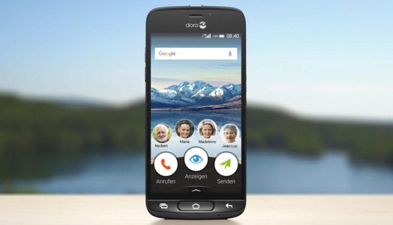 Doro 8040: Das neue Senioren-Smartphone