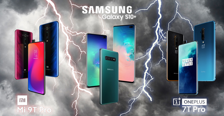 OnePlus 7T Pro und Xiaomi Mi 9T Pro: Alternativen zum Samsung S10 Plus?