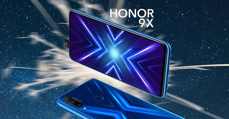 Honor 9X – Das Mittelklasse-Handy mit Pop-up Kamera
