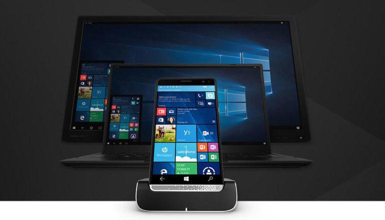 HP Elite x3: exklusives Windows Mobile 10 Smartphone mit Docking-Station