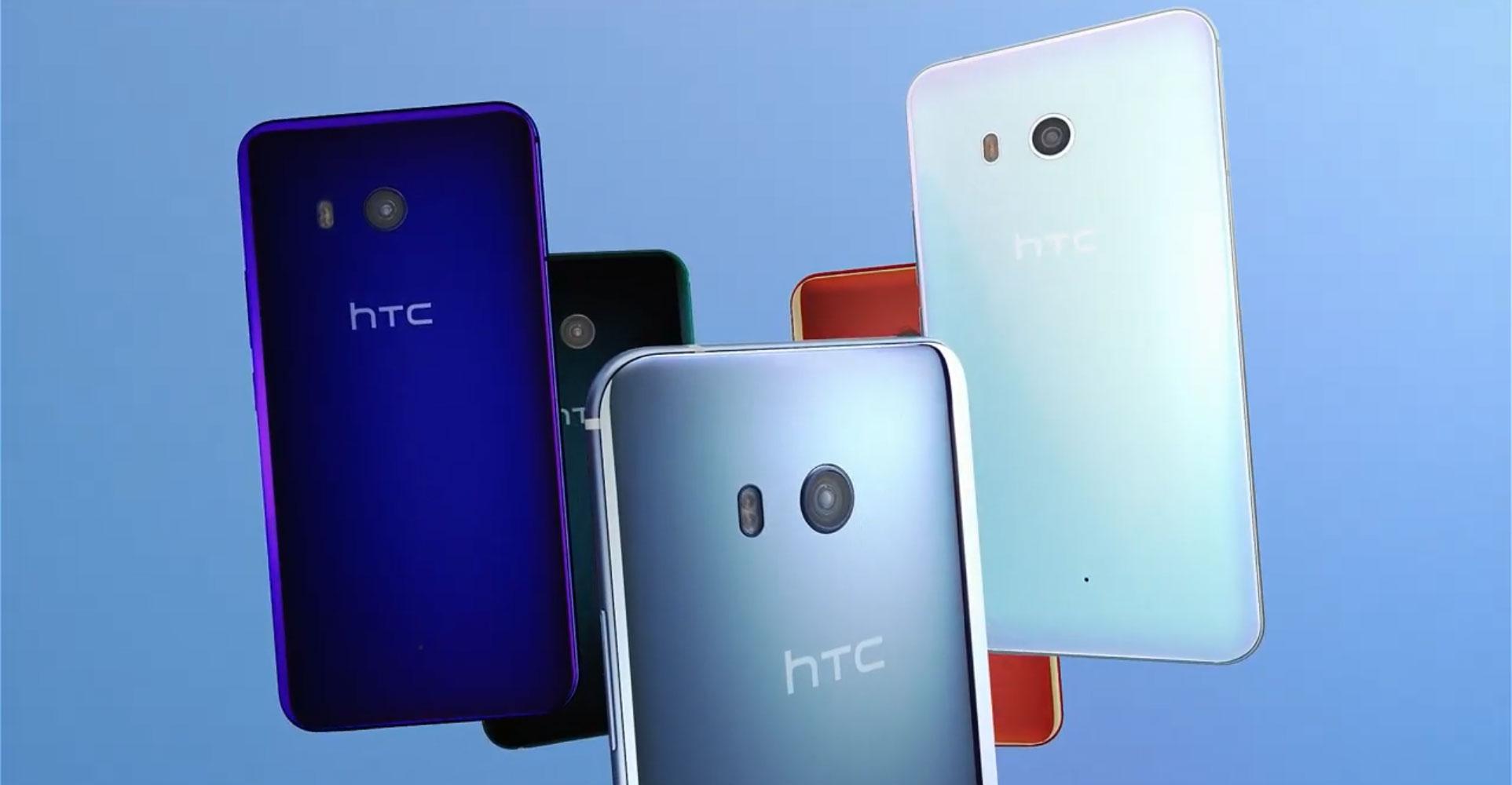 HTC U11 – Ein Smartphone macht Druck