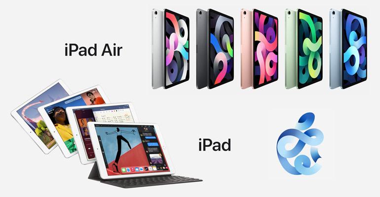 Neues iPad Air und iPad 10,2″ 2020 veröffentlicht