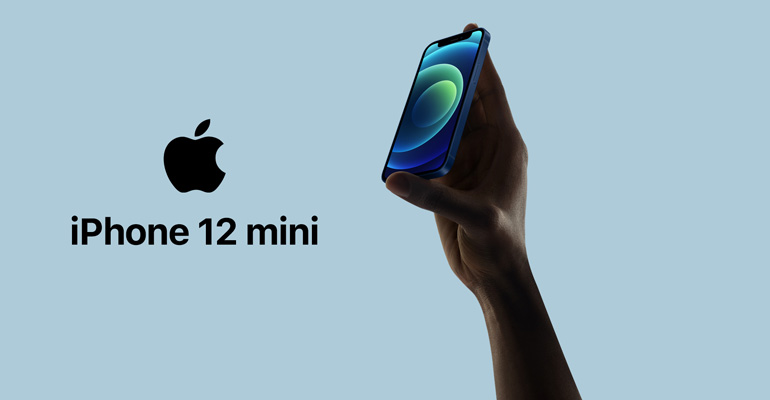 iPhone 12 mini – das kleinste 5G-Telefon der Welt