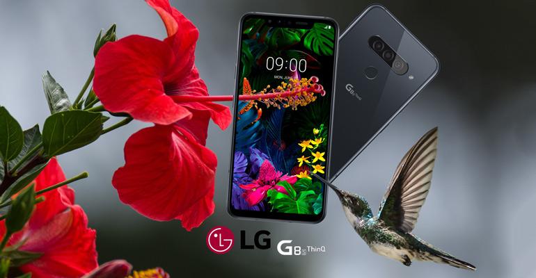 LG G8S ThinQ – Smartphone mit Gestensteuerung