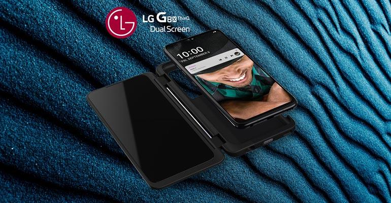 LG G8X ThinQ Dual Screen – leistungsstarkes Smartphone mit zwei Bildschirmen