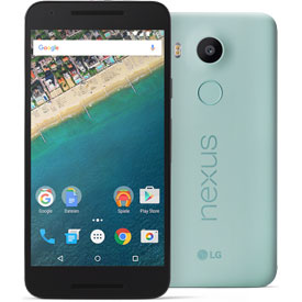 LG Google Nexus 5X: Marshmallow Androide mit 5,2 Zoll Full HD Display