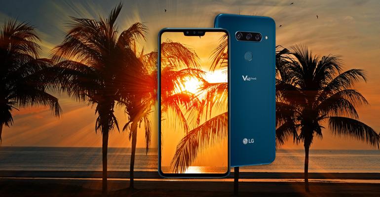 LG V40 ThinQ – Sound-Erlebnis auf einem neuen Niveau