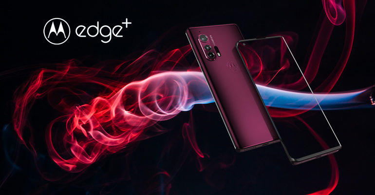 Motorola Edge+ – High-End mit gebogenem Display