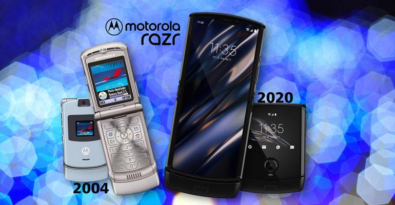 Motorola razr – Eine Ikone kehrt zurück