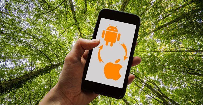 Nachhaltigkeit Teil II: Übertragen der Daten auf ein neues Smartphone