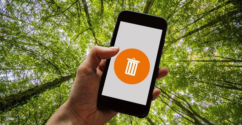 Das Handy zum Abgeben bereitmachen (Nachhaltigkeit Teil III)