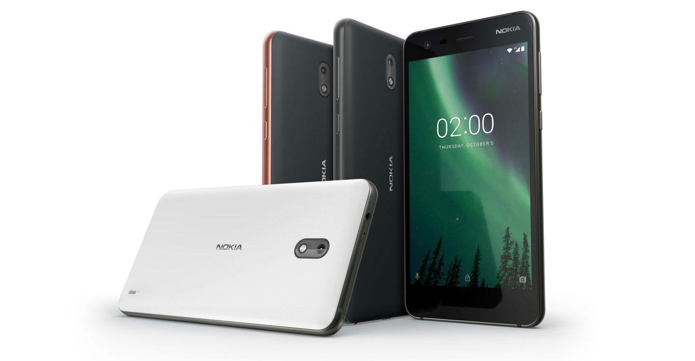 Nokia 2 Dual-SIM: Einsteiger-Smartphone mit riesigem Akku