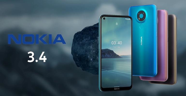 Nokia 3.4 – finnischer Sparpreis