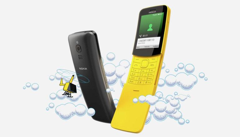Eine wahre Legende ist zurück – das Slider-Handy Nokia 8110 4G
