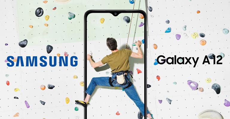 Samsung Galaxy A12 – Einsteiger-Smartphone mit großem Akku