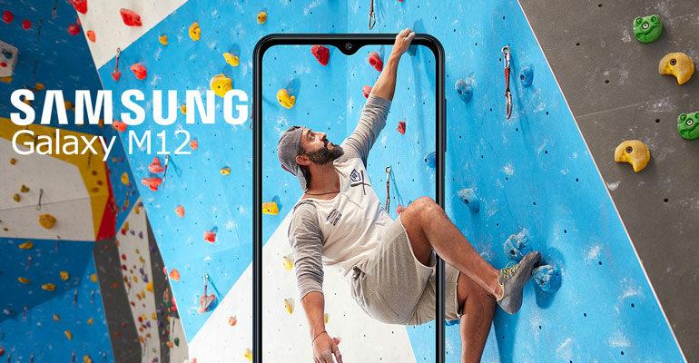 Samsung Galaxy M12– großes Handy, kleiner Preis