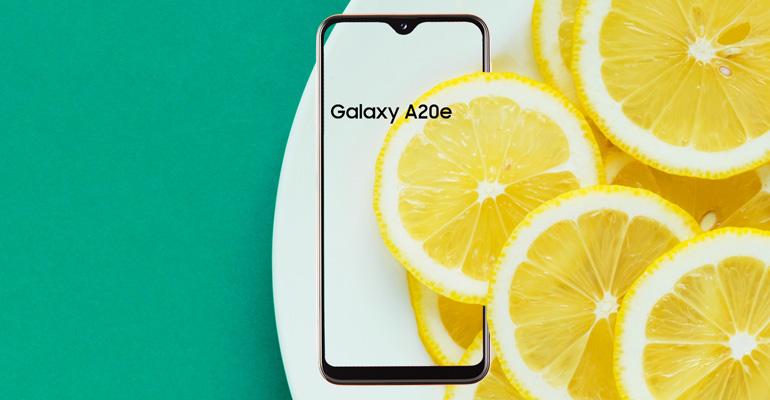 Samsung Galaxy A20e – das essentielle Smartphone