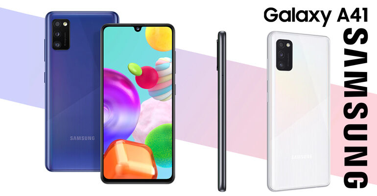 Samsung Galaxy A41 – weiterhin phänomenal