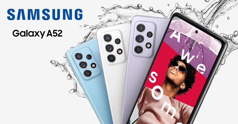 Samsung Galaxy A52 – rundum gut ausgestattet