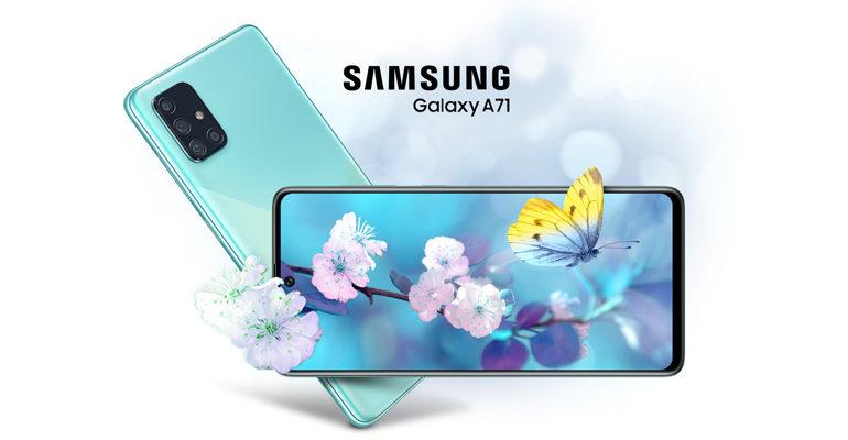 Samsung Galaxy A71 – ein modernes Update