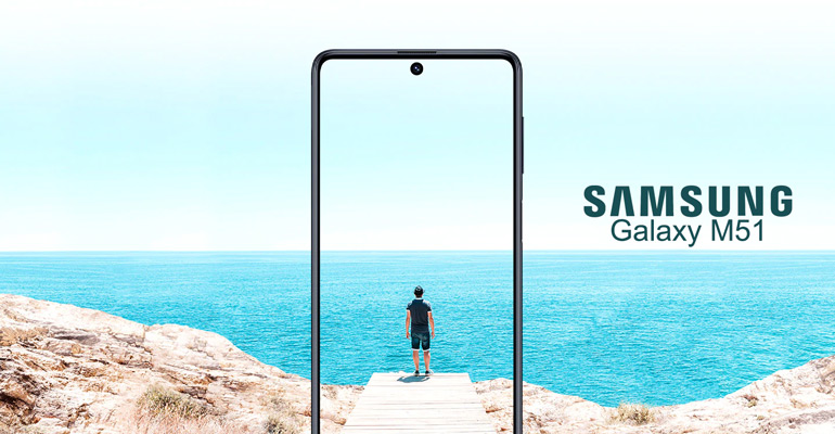 Samsung Galaxy M51 – unschlagbarer Akku