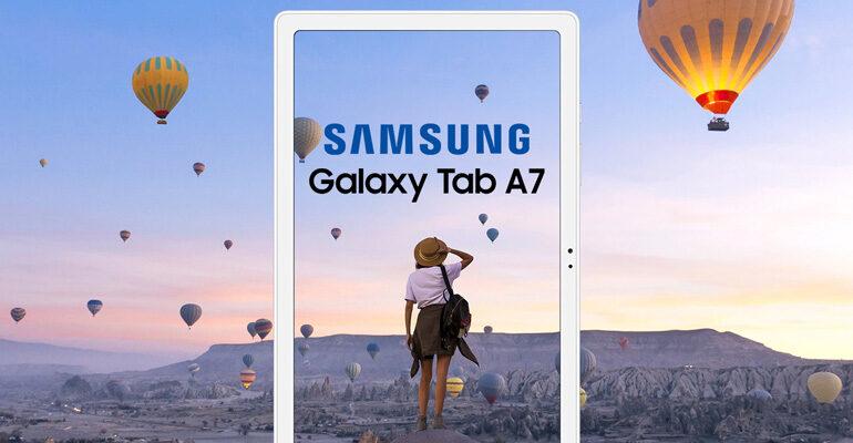 Samsung Galaxy Tab A7 10.4 LTE – stilvoll und energetisch unterwegs