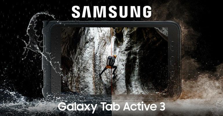 Samsung Galaxy Tab Active 3 – Das Outdoor-Tablet