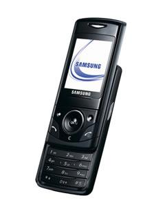 Flaches Sliderhandy aus Korea – das Samsung D520