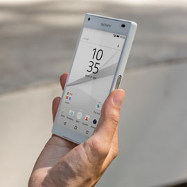 Sony Xperia Z5 Compact: Begehrter Lollipop-Androide mit 4,6 Zoll großem Touchscreen