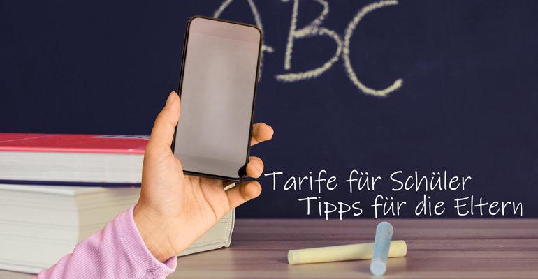 Tarife für Schüler – Tipps für Eltern